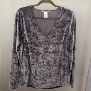 Tops - Velvet long sleeve